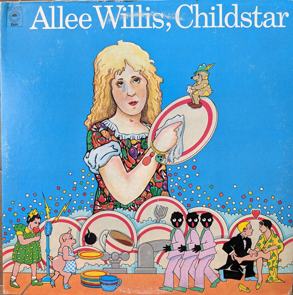 Allee Willis - Childstar album cover