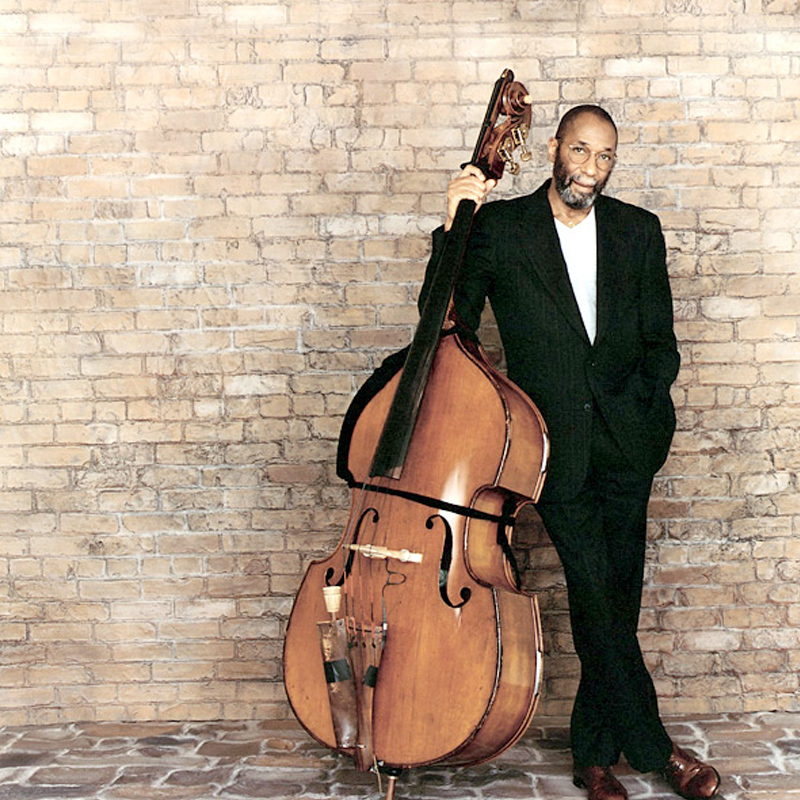 Picture of Ron carter with double bass