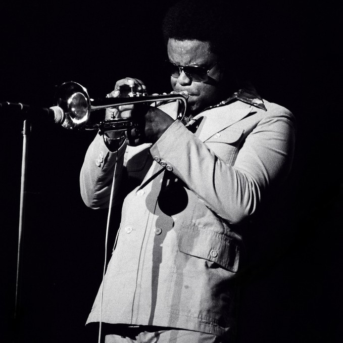 picture of Freddie Hubbard playing trombone