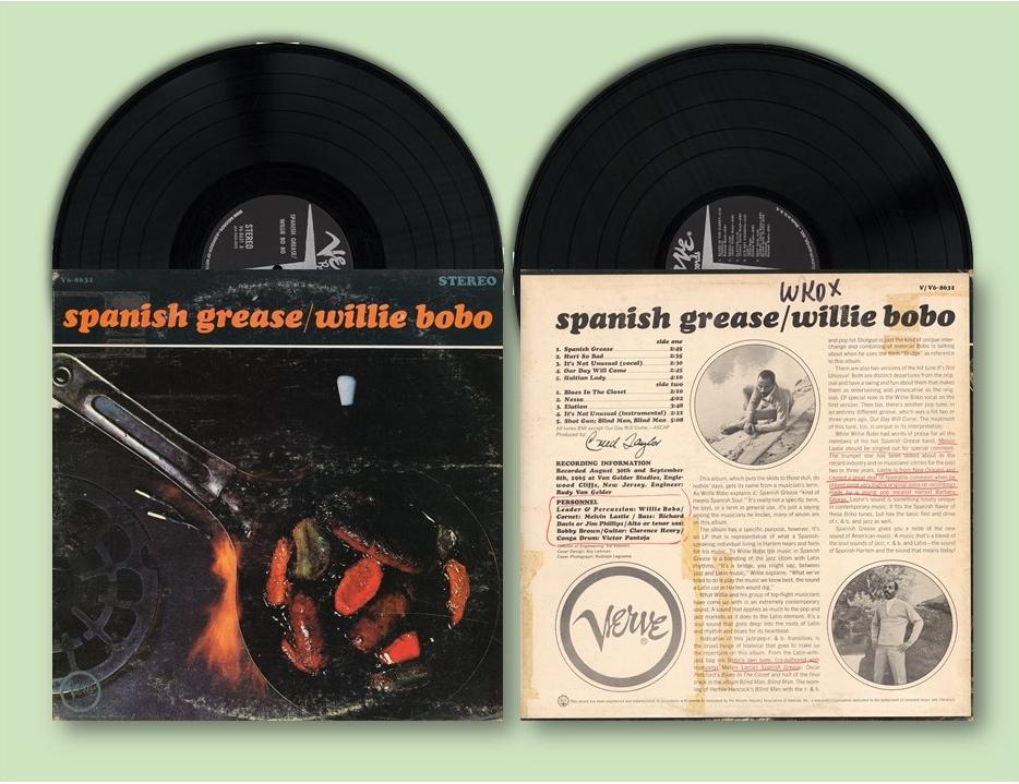 Spanish Grease album cover